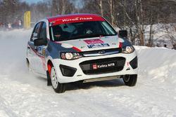 Дмитрий Воронов и Василий Кричевский, Lada Kalina NFR R1