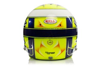 Helmet of Lando Norris, McLaren