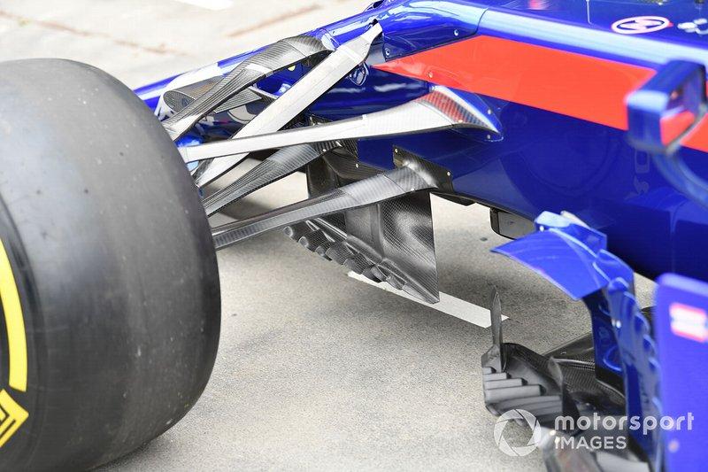 Wishbones on the Toro Rosso STR14