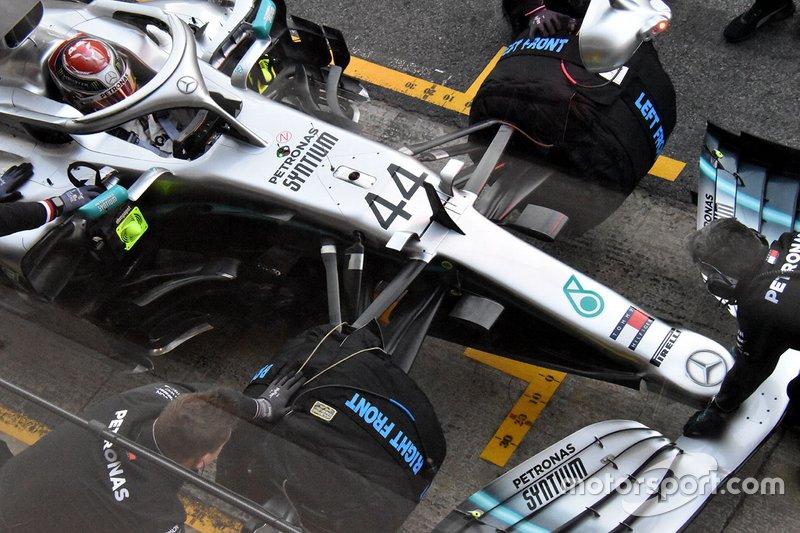 Деталь Mercedes AMG F1