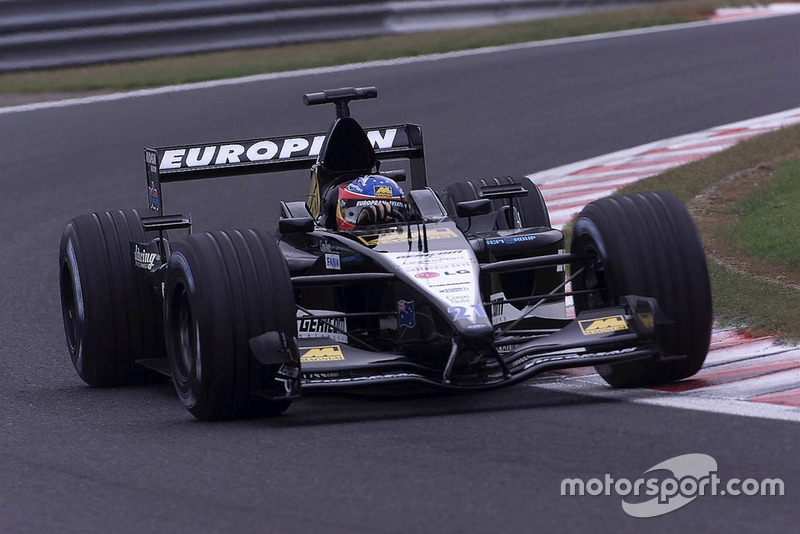 2001: Minardi-Cosworth PS01