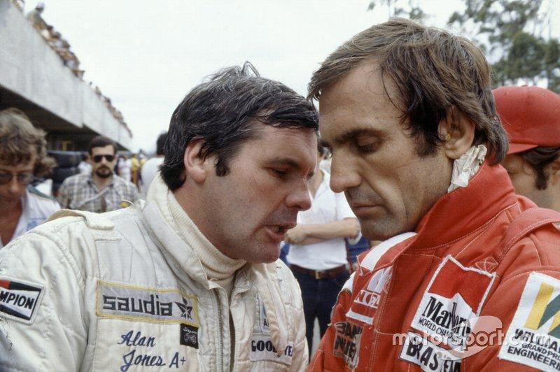 7: Alan Jones e Carlos Reutemann (Williams)