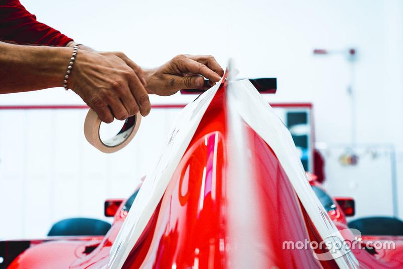 Ferrari Philip Morris festés
