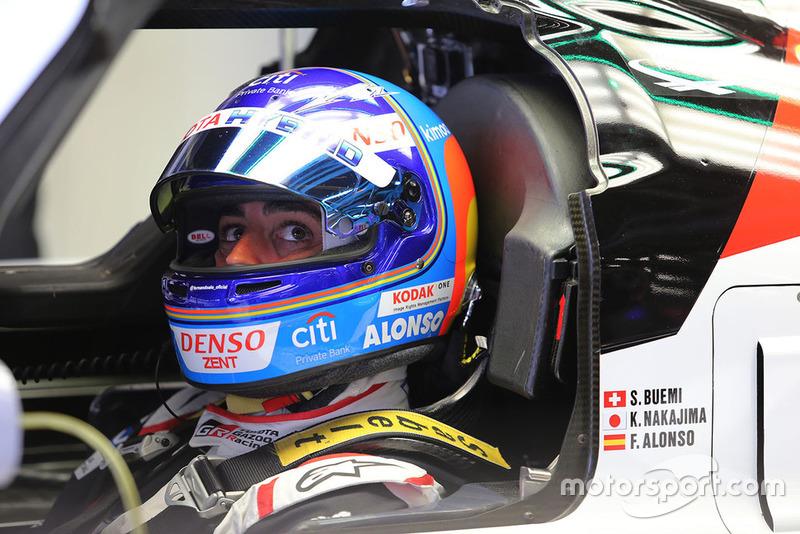 Фернандо Алонсо, Toyota Gazoo Racing Toyota TS050 #8