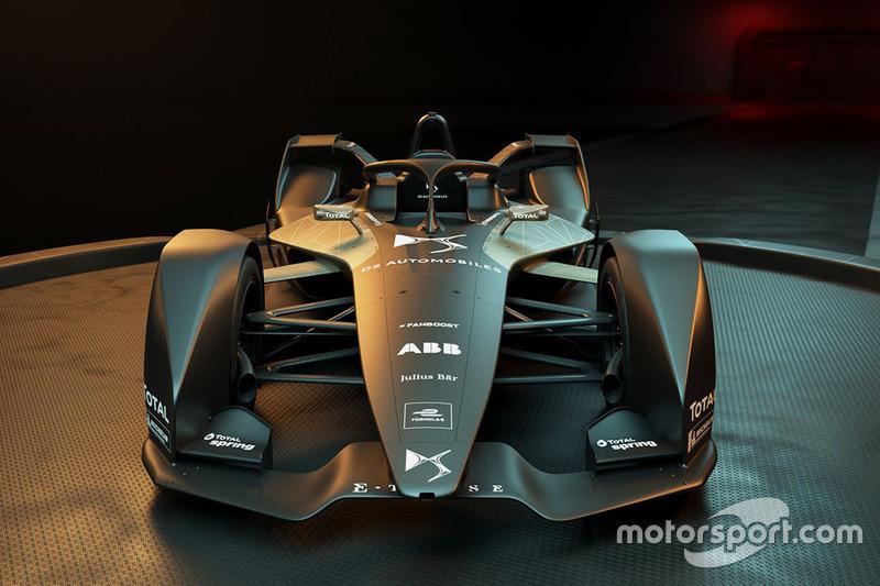Автомобиль DS Virgin Racing для Формулы E