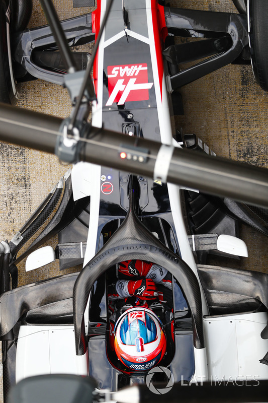 Система Halo на Haas F1 Team VF-18