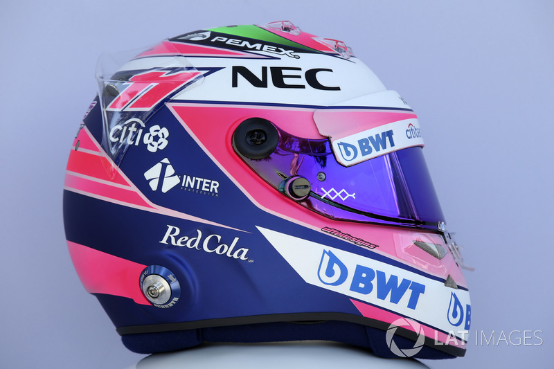 Casco de Sergio Pérez, Force India