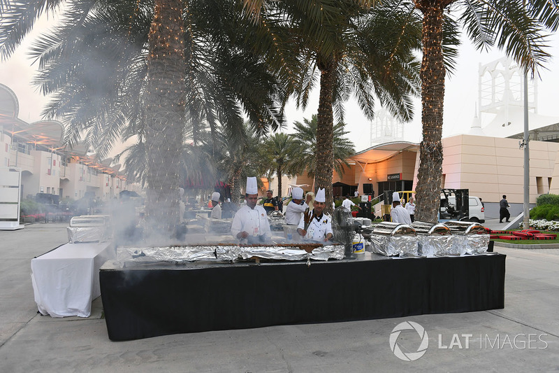 Welcome Party in the Paddock
