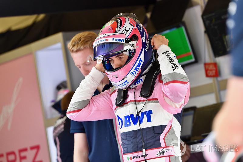 Sergio Perez - Force India: 8