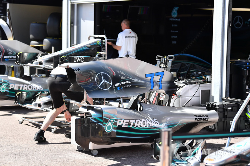 Mercedes-AMG F1 W09, carrozzeria