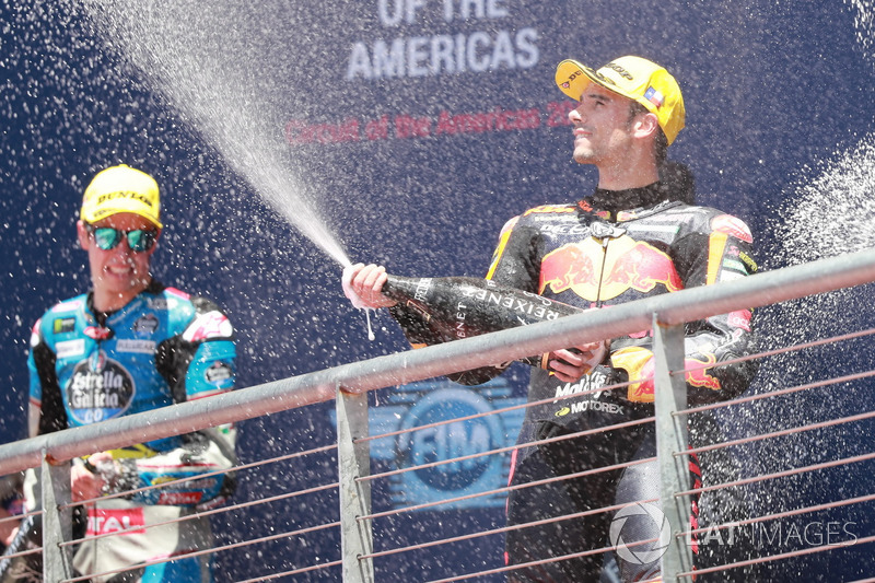 Podium : Miguel Oliveira, Red Bull KTM Ajo