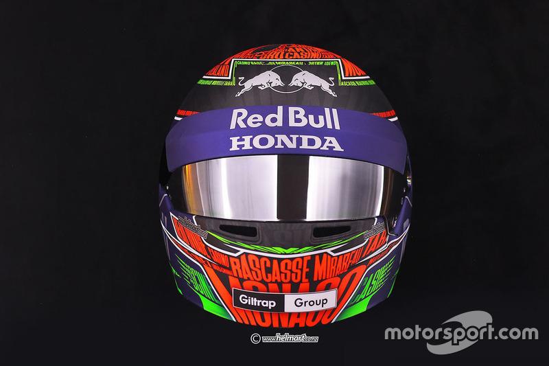 ブレンドン・ハートレー モナコスペシャルヘルメット