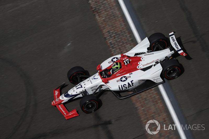 33°: Conor Daly, Dale Coyne Racing dba Thom Burns Racing Honda