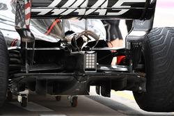 Haas F1 Team VF-17 rear diffuser