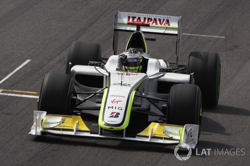 2009 - Jenson Button, Brawn GP-Mercedes