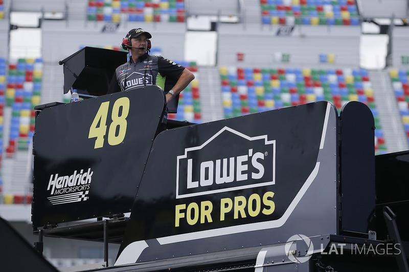 Chad Knaus, Hendrick Motorsports, Chevrolet Camaro Lowe's for Pros