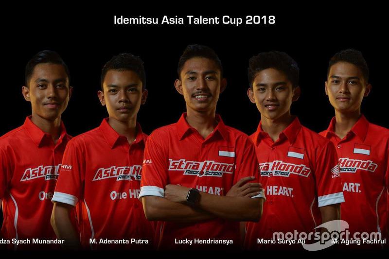 #4 Afridza Syach Munandar, #16 M Adenanta Putra, #13 Lucky Hendriansya, #7 Mario Suryo Aji, #22 M Agung Fachrul