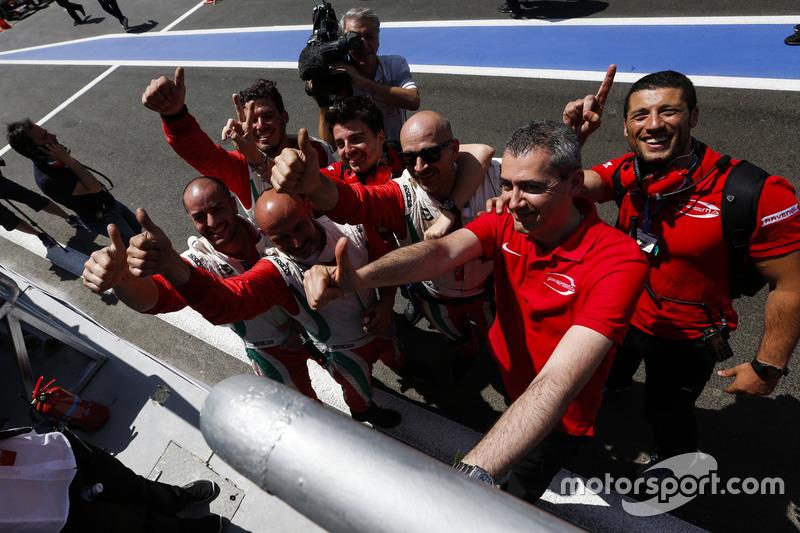 Mecánicos PREMA Racing