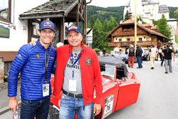 Mark Webber und Christian Deutschbauer, Austin Healey 100-6 Bj. 1958