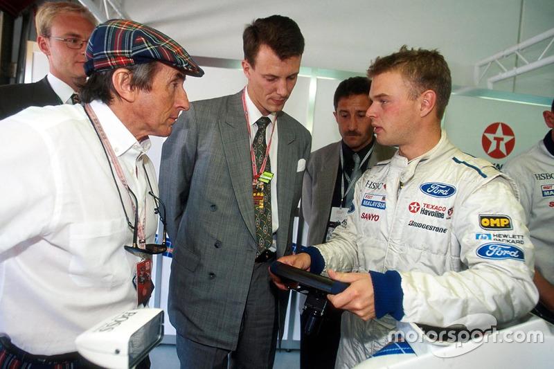 Джеки Стюарт и Ян Магнуссен, Stewart Grand Prix Ford
