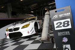 #28 Vattana BMW M6 GT3: Morgan Haber, Chonsawat Asavahame