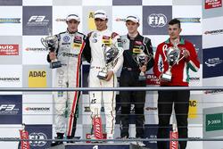 Podium:1. Lance Stroll, Prema Powerteam Dallara F312 - Mercedes-Benz; 2. Joel Eriksson, Motopark Dal