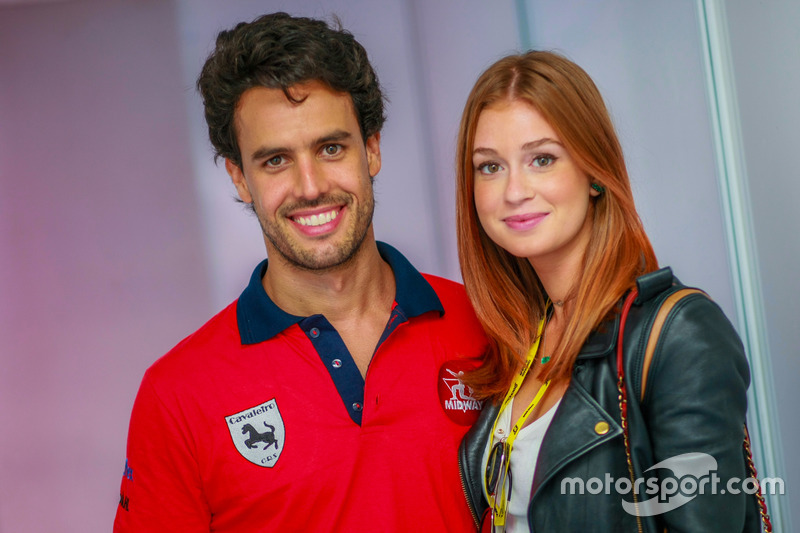 Xandinho Negrão com Marina Ruy Barbosa
