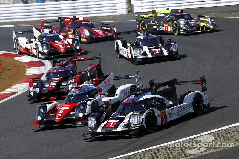 Duel LMP1, WEC Fuji 6 Jam 2016