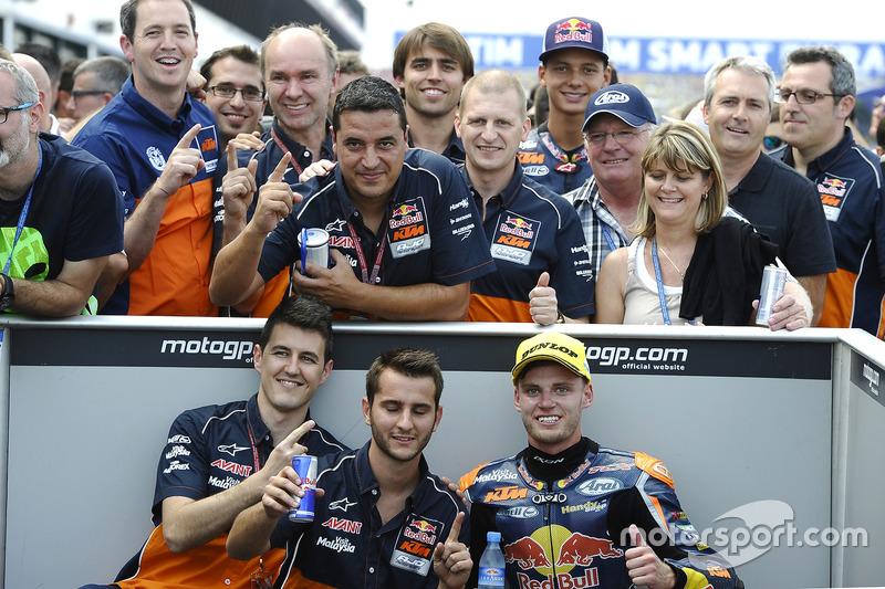 Sieger Brad Binder, Red Bull KTM Ajo