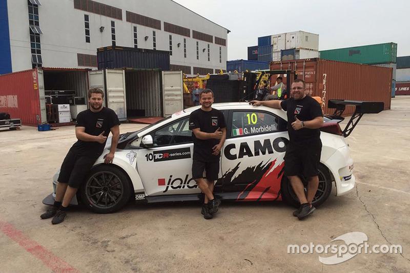 La Honda Civic di Gianni Morbidelli ricostruita dagli uomini della WestCoast Racing