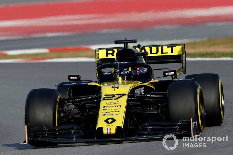 5º Nico Hulkenberg, Renault F1 Team R.S. 19, 1:16.843 (neumáticos C5, día 8)