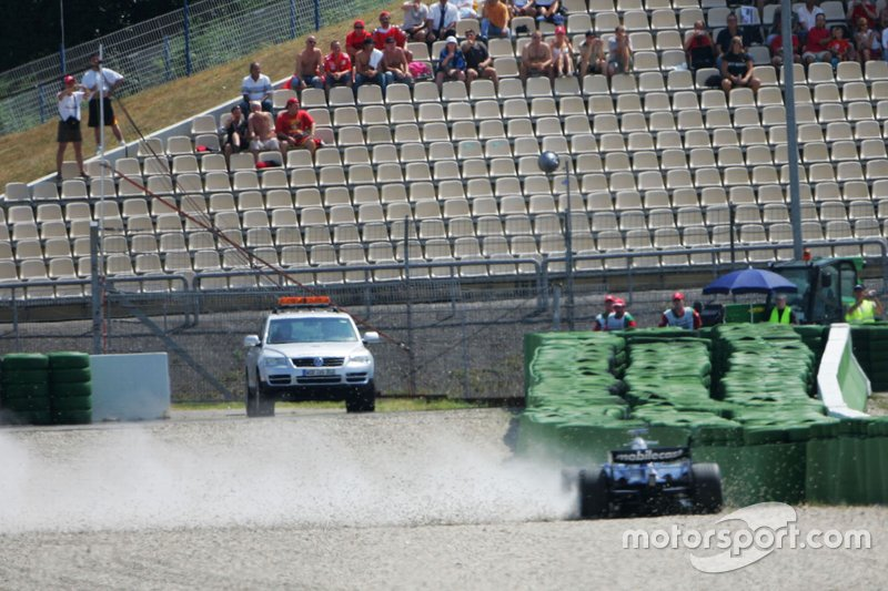 Accident pour Nico Rosberg, Williams FW28