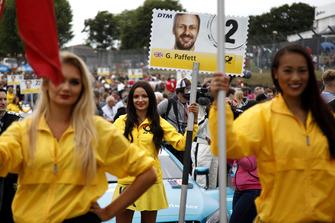 La grid girl di Gary Paffett, Mercedes-AMG Team HWA
