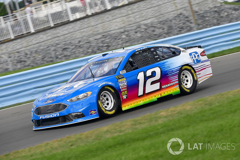 11. Ryan Blaney, Team Penske, Ford Fusion PPG