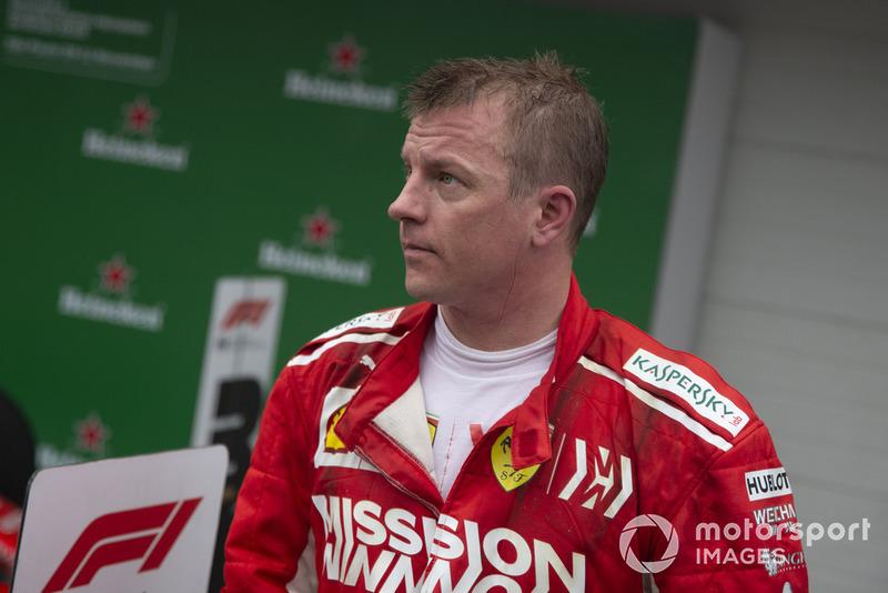 7. Кими Райкконен, Ferrari – 57 очков (позиция не изменилась)