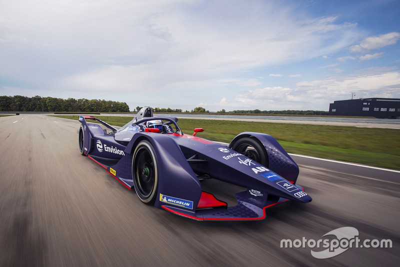 El Virgin Racing Gen2 de Fórmula E