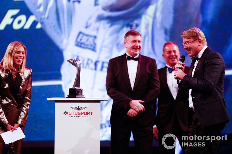 Gregor Grant Award (trophée d'honneur) : Mika Häkkinen