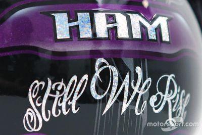Présentation du casque modifié de Lewis Hamilton