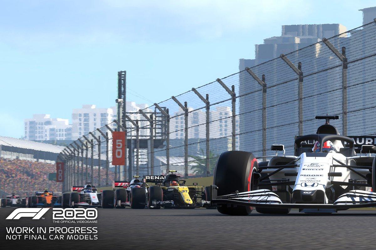 Présentation de F1 2020