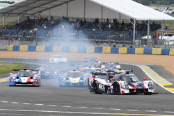 #2 United Autosports, Ligier JSP3 - Nissan: Martin Brundle, Christian England