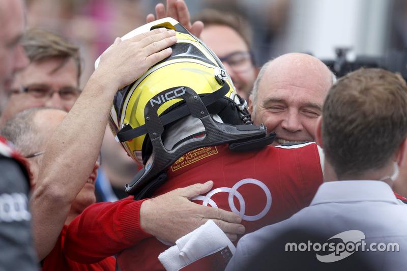 1. Nico Müller, Audi Sport Team Abt Sportsline, Audi RS 5 DTM ve Dr. Wolfgang Ullrich