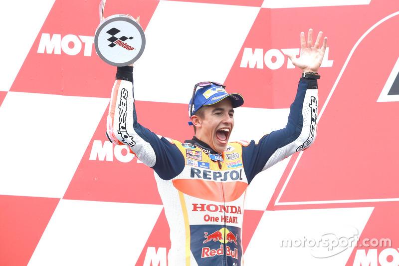 Podyum: 2. Marc Marquez, Repsol Honda Team