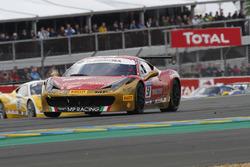 #50 Ineco - MP Racing, Ferrari 458 Challenge Evo: David Gostner