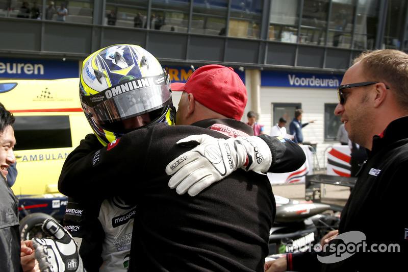 Il vincitore della gara Joel Eriksson, Motopark Dallara F316 – Volkswagen