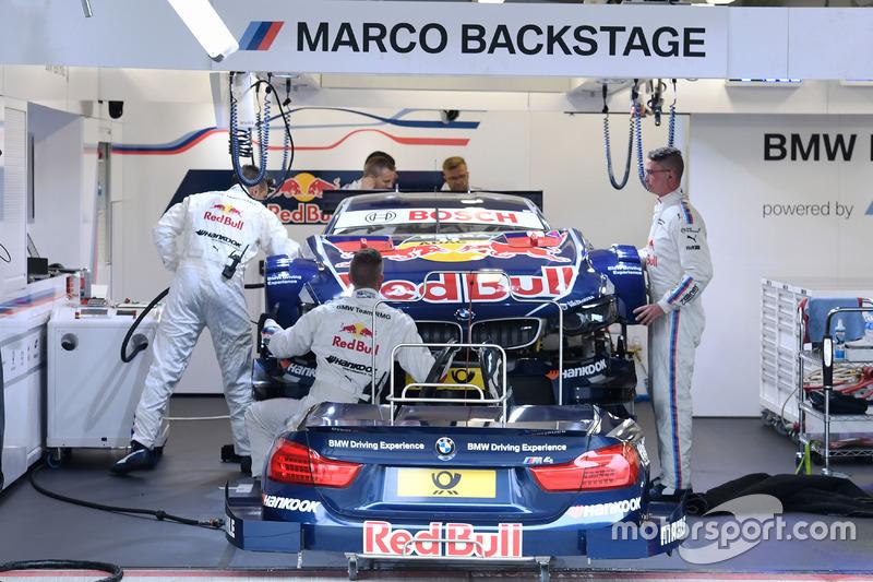 Car of Marco Wittmann, BMW Team RMG, BMW M4 DTM