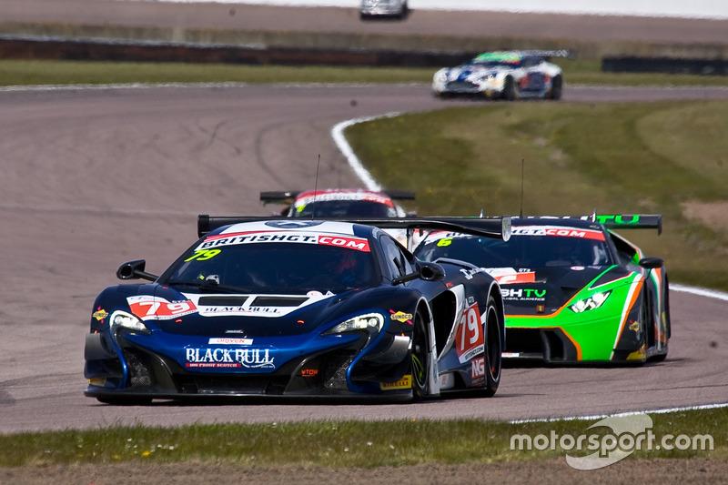 #79 Ecurie Ecosse Mclaren 650S GT3: Alasdair McCaig, Rob Bell
