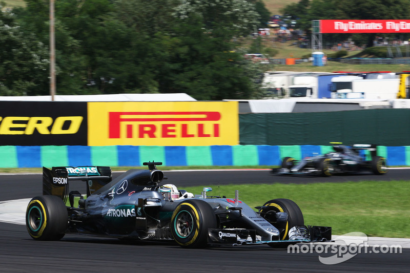 Lewis Hamilton, Mercedes AMG F1 W07 Hybrid,