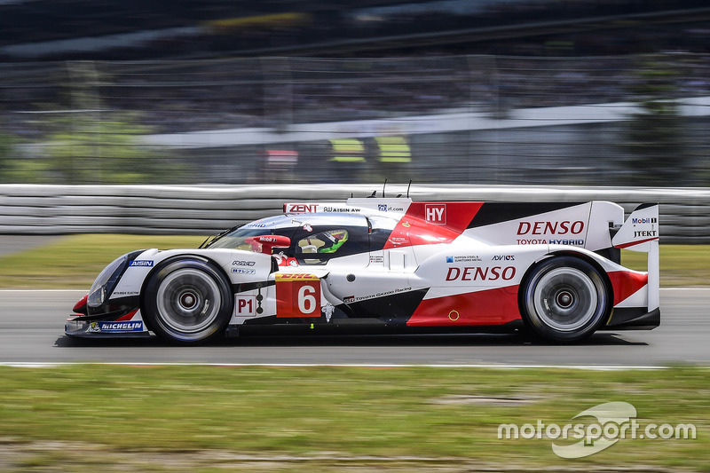 6. LMP1: #6 Toyota Racing, Toyota TS050: Stéphane Sarrazin, Mike Conway, Kamui Kobayashi