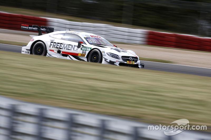 11. Felix Rosenqvist, Mercedes-AMG Team ART, Mercedes-AMG C 63 DTM DTM
