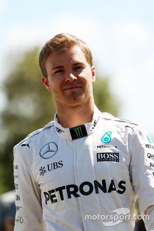 Nico Rosberg, Mercedes AMG F1 Team